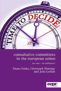 panke, hoennige, gollub 2015 consultative committees in the eu