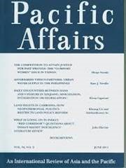 cover pacific affairs