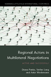 panke, lang, wiedemann 2018 regional actors in multilateral negotiations. active and successful?